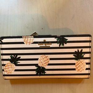 Kate Spade Cameron Street Pineapple Wallet